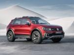 Volkswagen Tiguan GTE Active concept, 2016 Detroit Auto Show