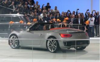 2009 Detroit Show: Volkswagen BlueSport Concept