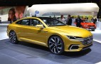 VW previews new design language, next CC with Sport Coupe GTE concept