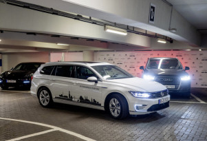 Volkswagen testing autonomous parking at German airport