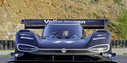 Volkswagen testing the I.D. R Pikes Peak race car