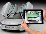 Volkswagen's MARTA augmented reality service app for iPad