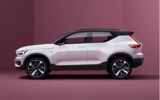 Volvo S40, XC40 concepts tease small SUV, EV future