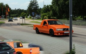 Volvo 740-based pickup, one of many A-traktors or EPA tractors in Sweden (photo by Vetatur Fumare)