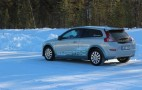 Volvo C30 Electric: Winter Drive Report