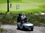 Volvo C70 golf cart