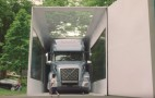 A 3-year-old just set a world record for the largest unboxing, of a Volvo truck