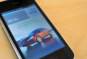 Volvo On Call app for iPhone