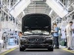 Volvo S90 production in Daqing, China