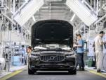 Volvo S90 production in Daqing, China