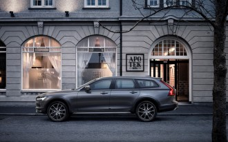 The 2017 Volvo V90 Cross Country climbs luxury wagon mountain
