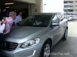Volvo XC60 City Safe demonstration goes horribly wrong