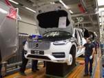 Volvo XC90 production in Gothenburg, Sweden