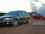 Volvo V70R and Audi S4