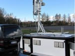 VVT mobile enforcement and traffic surveillance trailer