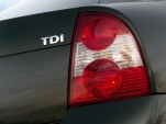 VW TDI badge