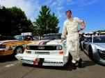 Walter Röhrl and his Audi Sport quattro S1.
