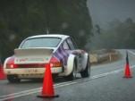 Walter Rohrl drives a 911 in the 2011 Targa Tasmania