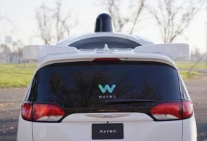 Waymo self-driving car prototype