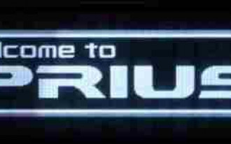 "2010 Toyota Prius Teased with ""Welcome"" Screen"