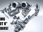 What is a Hot V turbo engine?