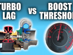 What's the difference between Turbo Lag and Boost Threshold?