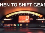 When should you shift for fastest acceleration?