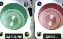 Why do diesel engines make more torque than gasoline engines?