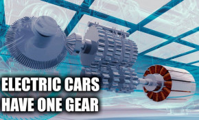 Why do electric cars typically have just one gear?