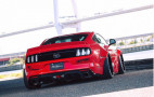 Liberty Walk wide-body Ford Mustang revealed
