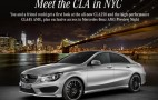 2014 Mercedes-Benz CLA45 AMG Set For 2013 New York Auto Show