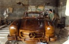 Wooden Mercedes 300SL Replica: Break Out The Furniture Polish