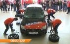 German Tech Team Obliterates Tire Change World Record: Video