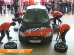 World record attempt for tire change