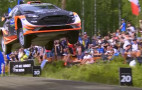 Watch this Ford Fiesta rally car fly more than 160 feet