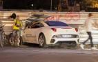 20-Year-Old Crashes Ferrari California During Test Drive