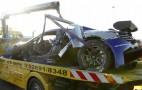 Gemballa Racing McLaren MP4-12C GT3 Nürburgring Crash: Video