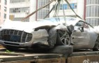 Hong Kong Witnesses First Aston Martin One-77 Crash