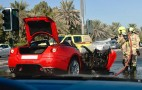 Ferrari 599 GTB Fiorano Burns To the Ground In Dubai: Video