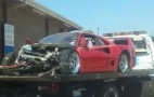 Ferrari F40 Crashes In Houston - UPDATE