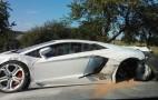 Lamborghini Aventador Crashes In Czech Republic