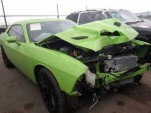 Wrecked 2015 Dodge Challenger SRT Hellcat - Image via Insurance Auto Auctions