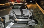 Two Porsche 911s Crash Including Rare 911 GT3 RS 4.0