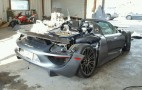 Porsche 918 Spyder turns up at salvage auction