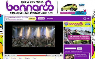 This Weekend: Ford Fiesta Sponsors Live Video From Bonnaroo Music Festival