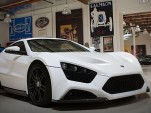 Zenvo ST-1 in the garage of Jay Leno
