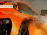 Zenvo ST1 catches fire on Top Gear