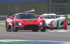 Watch the Zenvo TSR-S supercar's crazy rear wing in action