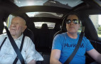 One Tesla Model S plus one 97-year-old grandfather: video magic