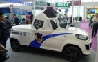 Armored Electric Chinese Police Patrol Car Is ... Words Fail Us